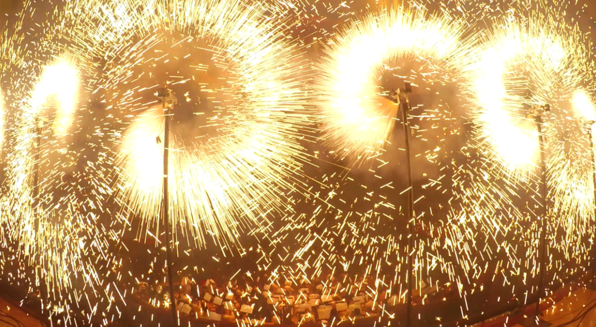 pyrotechnic effects